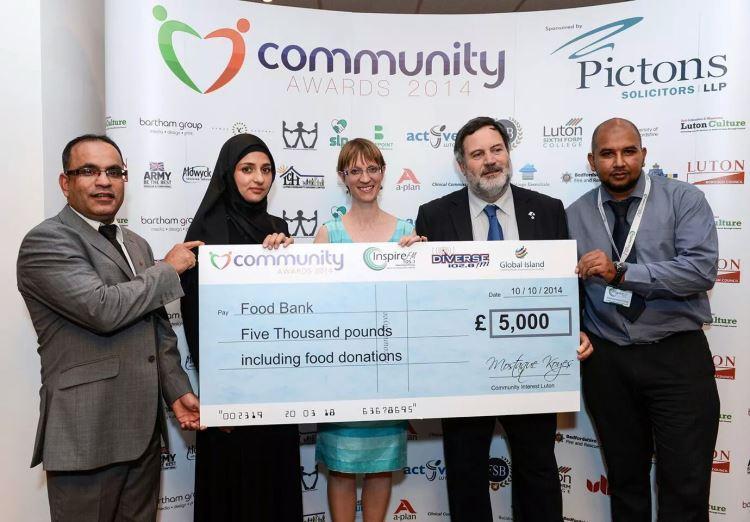Raising Funds For Luton Food Bank Diverse Fm